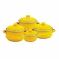 Набор посуды Metrot Янтарь 083146 (6/1 + Ковш 16 см)