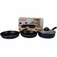 Набор посуды Tefal Premier из 3 предметов: сковорода 22/26 см, сотейник с крышкой 22