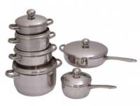 Набор посуды Regent INOX Luna Vitro  12 предметов 93-Lv11