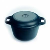 Казан Нева-металл 9830 с крышкой-сковородой 3 л