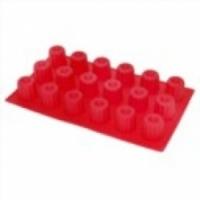 Форма для выпечки кексов, пирогов Vortex 11081 Колбочки 18 ячеек