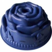Форма для выпечки Bekker Роза синяя