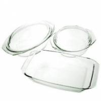 Набор посуды SIMAX арт. 302, набор 3 шт. (кастрюля 1,5л. + гусятница 2,4л. + лоток 2,4л.)