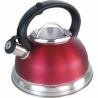 Bekker Чайник металлический со свистком 2,6 л. BK-411