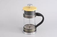 Gipfel Стеклянный заварочный чайник с поршнем GLACIER - GENEVA  350 мл