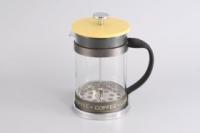 Gipfel Стеклянный заварочный чайник с поршнем GLACIER - GENEVA  800 мл