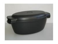 Гусятница Нева-Металл Посуда с крышкой-сковородой, 5л  6750
