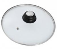 Крышка Regent INOX низкая с пароотводом 18 см,93-LID-01-18